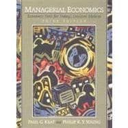 Managerial Economics : Economic Tools for Today's Decision Makers,9780130135384