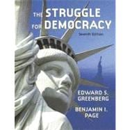 The Struggle for Democracy (hardcover) (with Study Card)