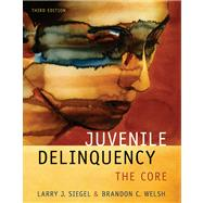 Juvenile Delinquency : The Core,9780495095422