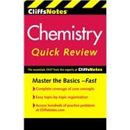 CliffsNotes Chemistry Quick Review, 9780470905432  