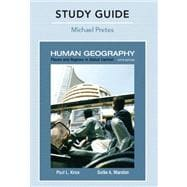 Study Guide for Places and Regions in Global Context : Human Geography,9780321615435