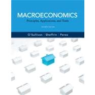 Macroeconomics : Principles, Applications and Tools,9780132555494