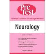 Neurology: PreTest Self-Assessment and Review, Sixth Edition