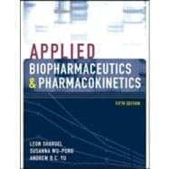Applied Biopharmaceutics & Pharmacokinetics, Fifth Edition,9780071375504