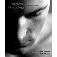 Cengage Advantage Books: Abnormal Psychology An Integrative Approach (with Psychology CourseMate with eBook Printed Access Card)