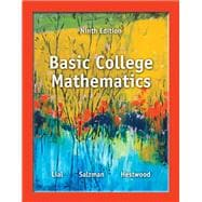 Basic College Mathematics,9780321825537