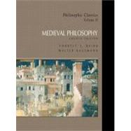 Philosophic Classics, Volume II: Medieval Philosophy,9780130485571