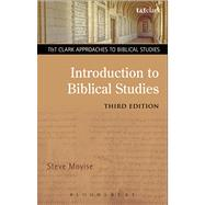 Introduction to Biblical Studies 3rd Edition,9780567175571
