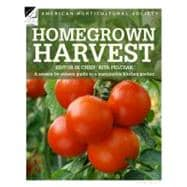 Homegrown Harvest : A Season-by-Season Guide to a Sustainabl..., 9781845335601  