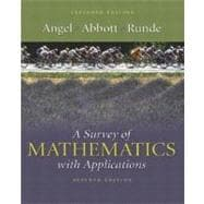 Survey of Mathematics with Applications, A: Expanded Edition,9780321205650