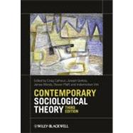 Contemporary Sociological Theory,9780470655665