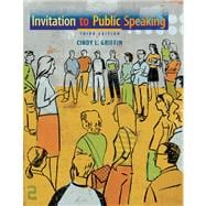Invitation To Public Speaking,9780495565680