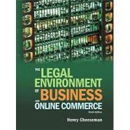 The Legal Environment of Business and Online Commerce,9780136085683