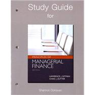 Study Guide for Prinicples of Managerial Finance,978013255568