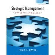 Strategic Management : Concepts and Cases,9780136015703