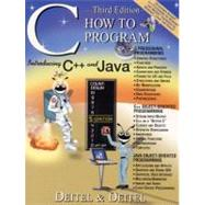 C How to Program,9780130895721