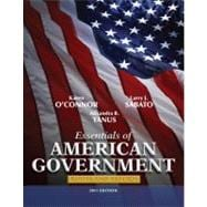 Essentials of American Government Roots and Reform, 2011 Edition,9780205825769