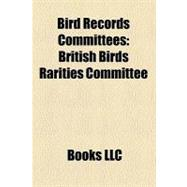 Bird Records Committees : British Birds Rarities Committee