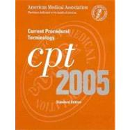 Current Procedural Terminology: CPT 2005 (Standard Edition, Thumb indexed Softbound Version),9781579475789