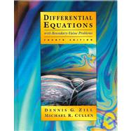 DIFFERENTIAL EQUATIONS WITH BOUNDARY VALUE PROBLEMS 4E
