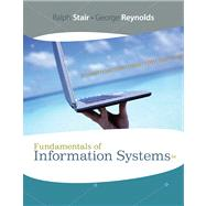 Fundamentals of Information Systems,9781423925811