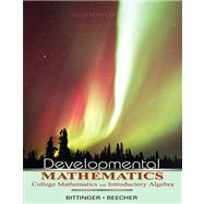Developmental Mathematics Value Pack (includes MyMathLab/MyStatLab Student Access Kit  & Student's Solutions Manual)