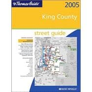 Thomas Guide 2005 King County: Street Guide,9780528955846