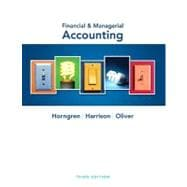 Financial and Managerial Accounting and MyAccountingLab with Pearson eText Student Access Code Card Package