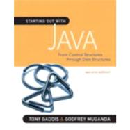 Starting Out with Java : From Control Structures Through Dat..., 9780321545862  