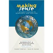 Making Sense : A Student's Guide to Research and Writing in ..., 9780195425895