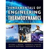 Fundamentals of Engineering Thermodynamics, 7th Edition, 9780470495902  
