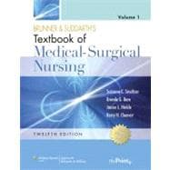 Brunner & Suddarth's Textbook of Medical-Surgical Nursing 2 Volume Set,9780781785907