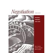 Negotiation: Readings, Exercises, and Cases,9780256215915