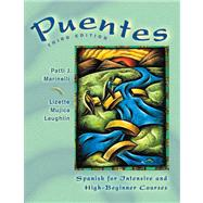 Puentes : Spanish for Intensive and High-Beginner Courses