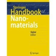Springer Handbook of Nanomaterials, 9783642205941