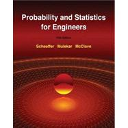 Student Solutions Manual for Scheaffer/Mulekar/McClave'sProbability and Statistics for Engineers, 5th,9780538735957