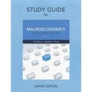 Study Guide for Macroeconomics : Principles, Applications and Tools,9780132555968