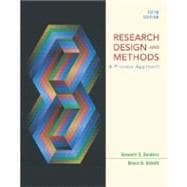 Research Design and Methods : A Process Approach
