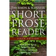 The Simon and Schuster Short Prose Reader,9780205825998