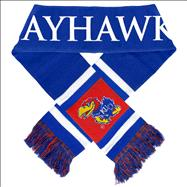 Kansas Jayhawks Stripe Scarf