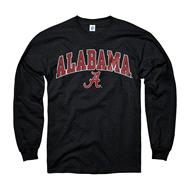 Alabama Crimson Tide Youth Black Perennial II Long Sleeve T-Shirt