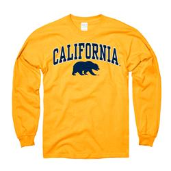 California Bears Youth Gold Perennial II Long Sleeve T-Shirt