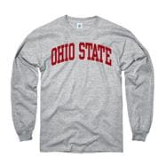 Ohio State Buckeyes Youth Grey Arch Long Sleeve T-Shirt