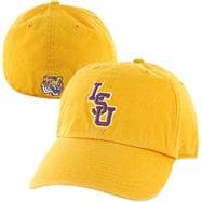LSU Tigers Gold '47 Brand Franchise Fitted Hat