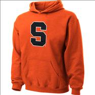 Syracuse Orange Youth Orange Tackle Twill Hooded Sweatshirt