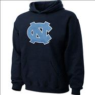 North Carolina Tar Heels Youth Navy Tackle Twill Hooded Sweatshirt