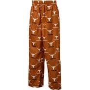 Texas Longhorns Youth Dark Orange Team Logo Printed Pants