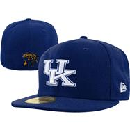 Kentucky Wildcats New Era 59FIFTY Basic Fitted Hat
