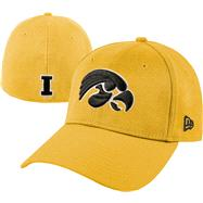 Iowa Hawkeyes New Era Gold 39THIRTY Classic Flex Hat