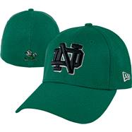 Notre Dame Fighting Irish New Era Kelly Green 39THIRTY Classic Flex Hat